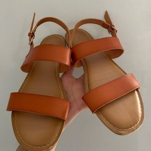 Old Navy Faux Leather Sandals